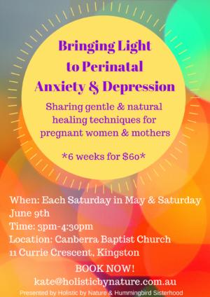 Bringing Light to Perinatal Anxiety & Depression